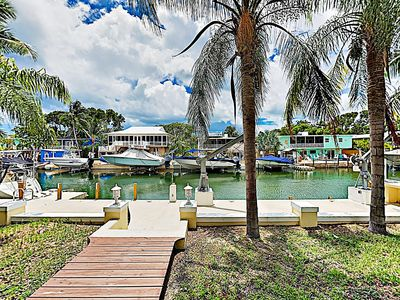 Photo for New Listing! Spacious Waterfront Home & Studio w/ 70' Deepwater Dock