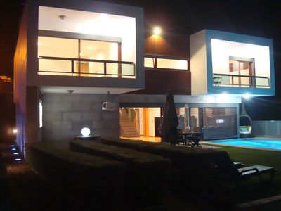 Awarded modern villa. Pool, SPA, Cinema, Gardens, Games room