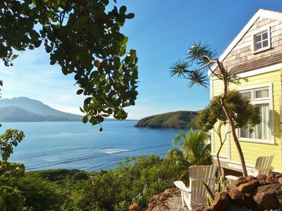 Photo for ST KITTS  Charming Island Cottage in a Beautiful Beach Location STUNNING VIEWS