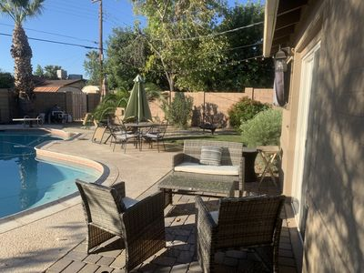 Photo for Lovely Scottsdale Home- Great Location  with Amazing Outdoor  Space and Pool