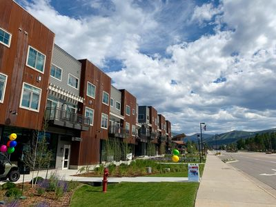 Photo for New 2 Bed/ 2.5 Bath Downtown Condo - Balcony with Mountain Views!