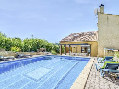 Photo for Alluring Holiday Home in Roquebrun with Swimming Pool