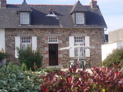 Photo for Britain, waterfront home stone quiet in Paimpol all year