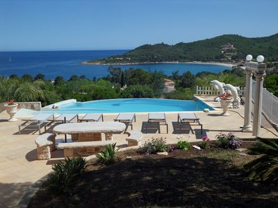 Photo for Villa private pool - sea view - beach on foot - Southern Corsica