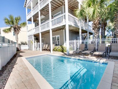 Photo for Private Pool, 60 yards to the Beach- Fall Specials Available Now!
