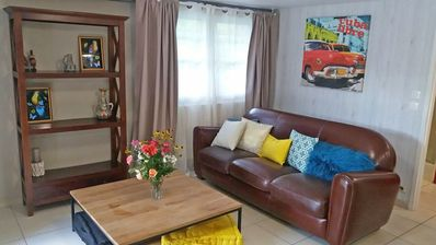 Photo for cozy apartment T1 with beautiful garden 20min. from Bordeaux