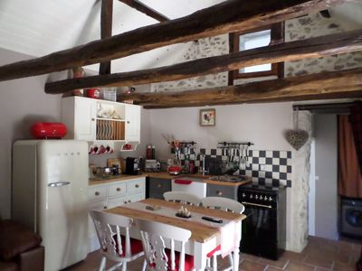 Photo for Charming character cottage in the heart of the French lake district