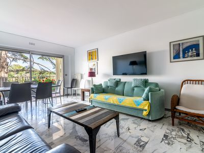 Photo for BEACHES ON FOOT, TERRACES, LUXURIOUS 3 BEDROOMS REDONE FOR 8 PEOPLE