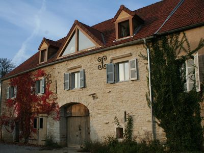 Photo for Burgundy, Meursault Luxury Stone House Overlooking Vines