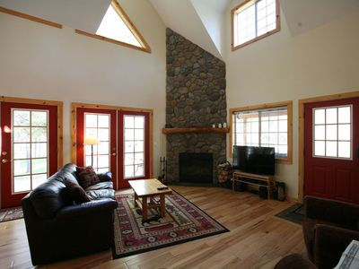Photo for 559 Wood Duck - Just 3 Miles South of Sunriver Resort - Beautiful Cabin - 2 Story Log Siding Home