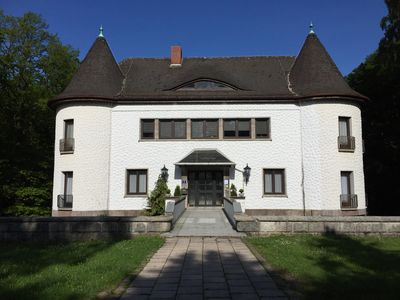 Photo for Villa Warzenburg, apartment 2 with panoramic view in the Thuringian Forest, incl. WIRELESS INTERNET ACCESS.
