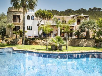 Photo for Fantastic Villa Casa Torres Carón with Pool, Wi-Fi, Air Conditioning, Garden & Terraces; Parking Available