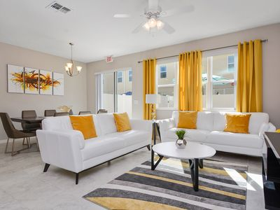 Photo for Four Bedrooms Townhome close to Disney 5122