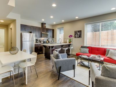 Photo for NEW LISTING! New, modern condo w/great location near beach & The Junction