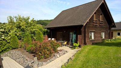Photo for Very nice and spacious wooden house in the heart of the Eifel