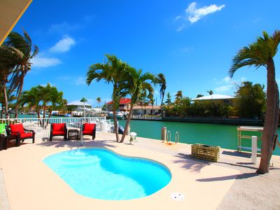 Photo for Shell Yeah🐚Canal Front, Private Pool and Dock, Screened Lanai Porch
