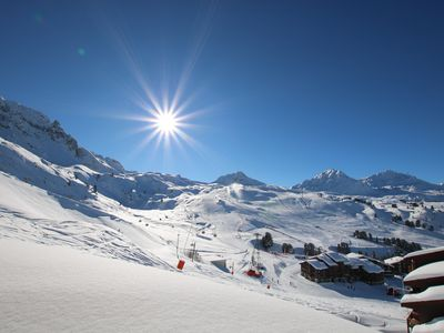 Photo for Ski-in ski-out Belle Plagne 2100m 3 rooms all comfort full South residence 4 ****
