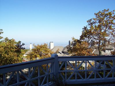 View from Deck at Shenandoah Valley