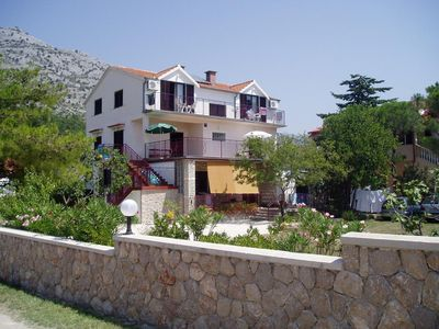 Photo for Apartment in Starigrad (Paklenica), capacity 2+2