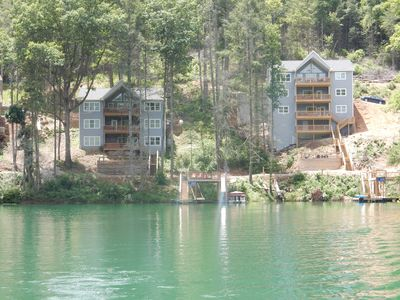 Photo for Pirates Cove 9 Bed/9 Bath,  ice maker, large hot tub,  fire pit, double dock