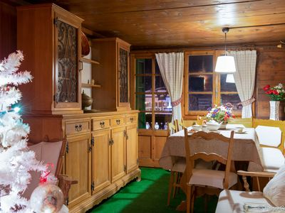 Photo for The den of Mansarda on the square of Macugnaga, 100 meters from the ski lifts,