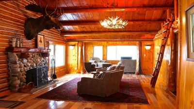 Photo for Completely Renovated Log Cabin on Lake Charlevoix!