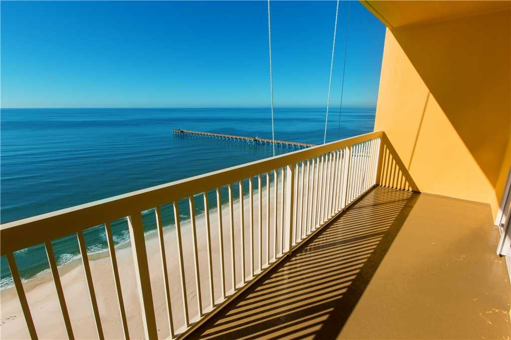 18th floor ocean front unit with updated kitchen and large for 18th floor balcony music
