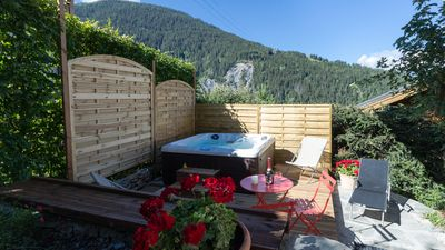 Photo for Catered only Chalet with new hot tub