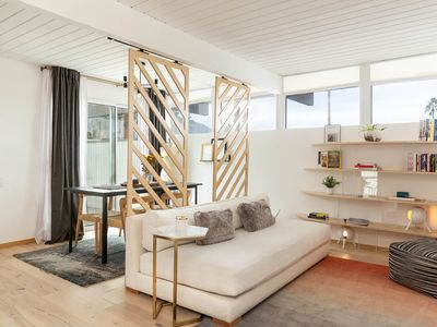 Photo for Eclectic updated condo in Mid-Century complex