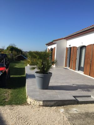 Photo for modern house in landscaped grounds located in a village on the estuary