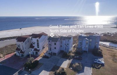 Photo for Good Times and Tan Lines: 4 BR / 3.5 BA Sleeps 8 Oceanfront North Topsail Beach