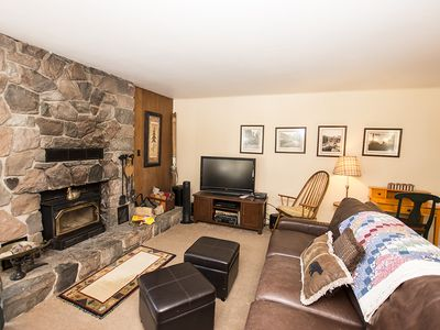 Photo for Cozy 3br Cabin, Less Than a Block from Lake, Dogs Allowed!