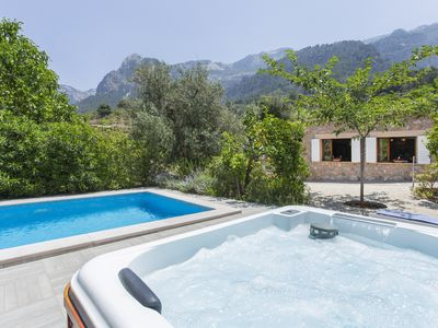 Photo for Dream villa in the heart of Sóller with pool and jacuzzi. FREE WIFI