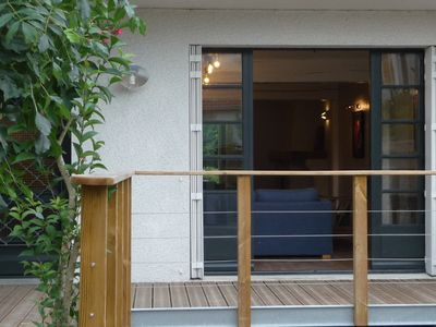 Photo for Ground floor house of 130 m2 with terraces and quiet garden in downtown La Rochelle