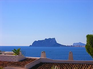 Photo for Villa With Private Pool And Sea Views Of Moraira Town And Marina. Child's Playpark Area