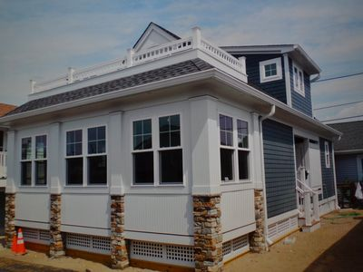 Photo for NEW CONSTRUCTION   Beach Block on Private Street in Point Pleasant Beach, NJ