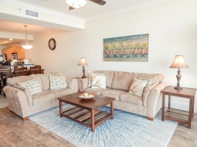 Photo for Beautiful Three Bedroom, Gulf-Front Condo on the 5th Floor of Holiday Isle
