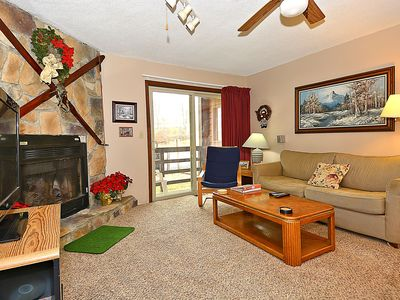 Photo for Red Fox Retreat: ground floor condo across the parking lot from the slopes!
