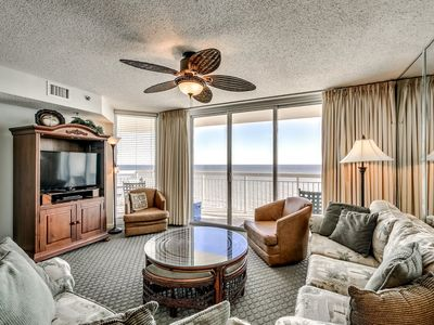 Photo for Luxurious Beachfront Condo, Indoor and Outdoor Pools | Crescent Shores - S 1207