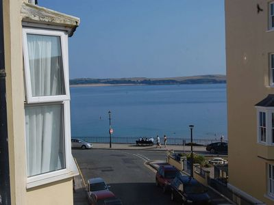 Photo for Tenby Flat with views of the sea and Caldey Island