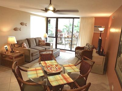 Bright, renovated inner courtyard condo; tropical decor for your Maui vacation!