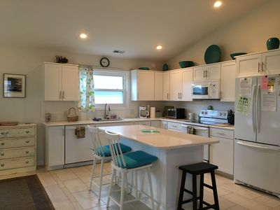 newly remodeled kitchen with ample counter space