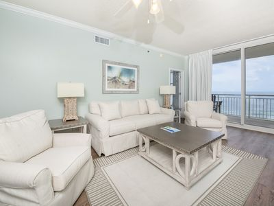 Photo for 9th Floor Gulf Front Condo w/ Beach Setup Included, Near Entertainment