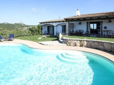 Photo for Holiday Home with Wi-Fi, Air Conditioning, Pool, Garden and Sea View; Parking available