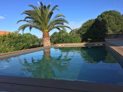 Photo for Villa Lisandra private pool, 4 bedrooms, 8 people, close to the beach