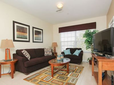 Photo for Gorgeous Condo, 2 Miles From Disney, Free Resort Amenities, Has It All!