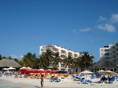 ---Ixchel Condos---on North Beach--My unit --4th flloor in front--Phase-1