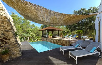 Photo for Authentic Renovated Ibicencan Finca with swimmingpool for 8 near San Jose
