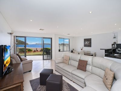 Photo for OCEAN VIEW PARADISE - WATERFRONT ETTALONG BEACH