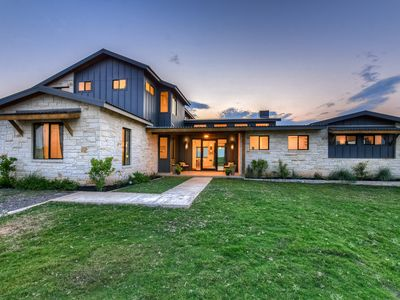 Photo for River Front Modern Home with Panoramic Downtown Austin Views